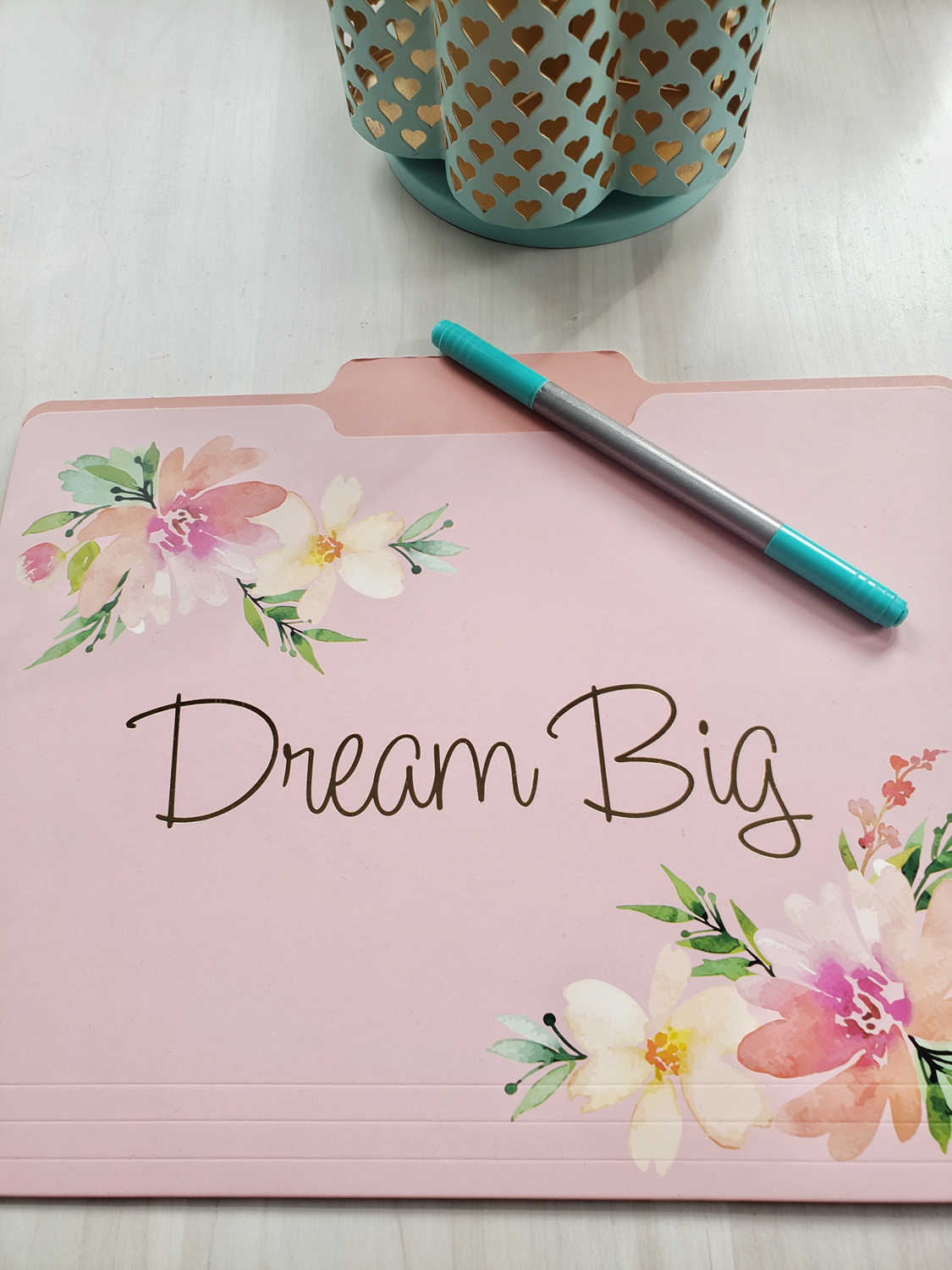 Dream big and don't let your fear of failure stop you