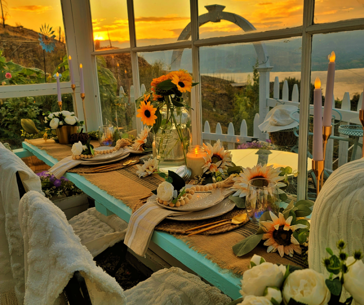How to host a fabulous outdoor dinner party!