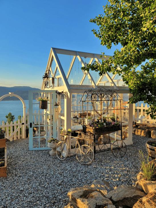 Golden Hour Greenhouse