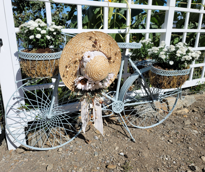 4 Easy Steps to the Most Beautiful Fall Garden Hat