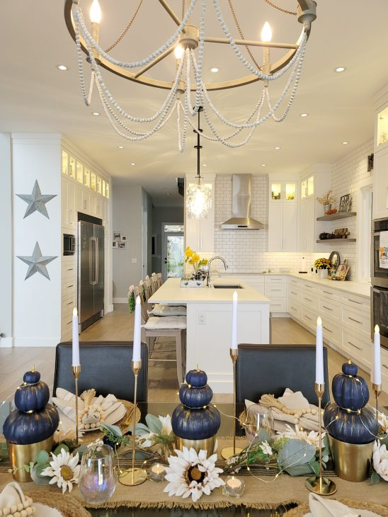 Topiaries with kitchen